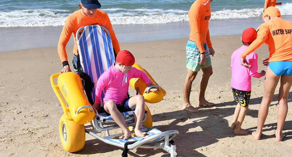 Surf Life Saving Inclusive Beaches