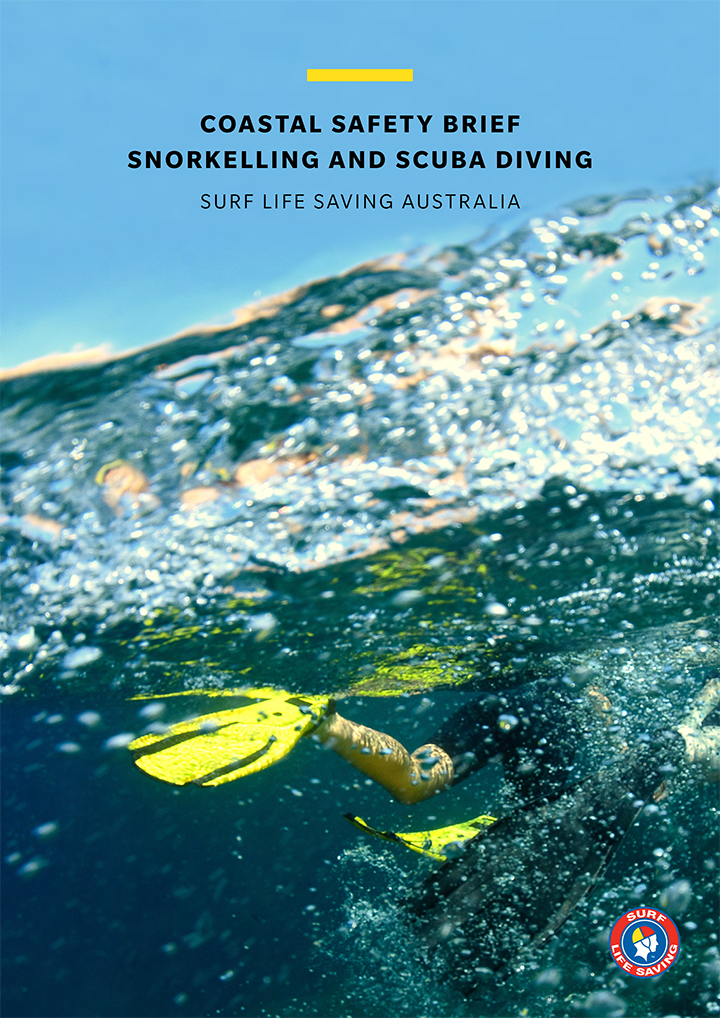 cover of snorkelling and scuba brief